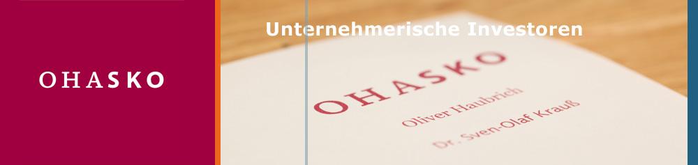 OHASKO Beteiligungs-GmbH - Unternehmerische Investoren